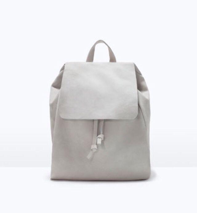 MINIMAL + CLASSIC: Zara leather backpack