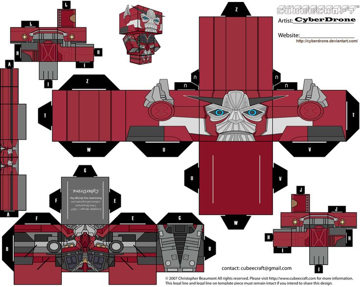 Cubee - Sentinel Prime 'LAM' by CyberDrone.deviantart.com on @deviantART