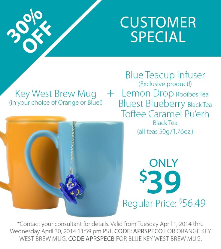 Steeped Tea is offering 30% off amazing products.