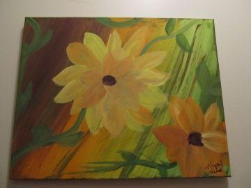 Autumn colors Medium painting | Random Wishes, Seasonal - Painting - Fine Art & Craft