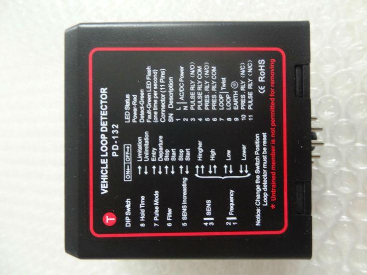 Porte détecteur de boucle Magnétique Détecteur de Boucle De Véhicule pour le stationnement barrière de contrôle, véhicule de comptage, portes automatiques et portes