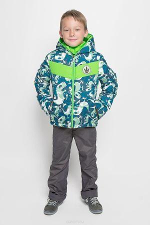 Boom! Комплект одежды  — 3894р. -------------------------------- Комплект одежды Boom!, состоящий из куртки и утепленных брюк, идеально подойдет для вашего мальчика в прохладное время года. Куртка изготовлена из 100% полиэстера и оформлена принтом с изображением динозавров, спереди - декоративной нашивкой, сбоку и на нижней части спинки - фирменными светоотражающими нашивками. Подкладка, выполненная из полиэстера с добавлением вискозы, приятная на ощупь. В качестве утеплителя используется…