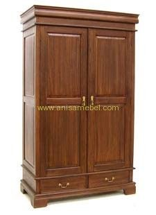 http://anisamebel.com/lemari-pakaian-kayu-jati-2-pintu/