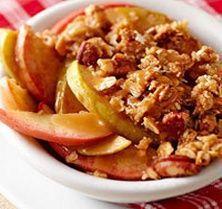 Caramel Apple Crisp (5 Points+) | Weight Watchers Recipes