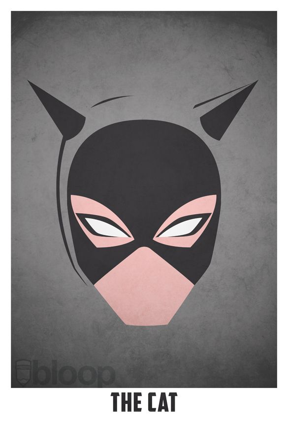 Artist Creates Ultra-Minimalist Posters Of Villains, Heroes - DesignTAXI.com