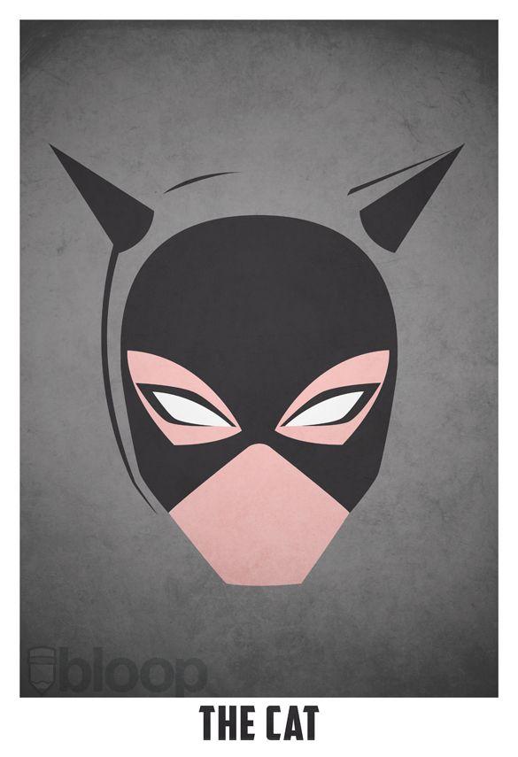 Artist Creates Ultra-Minimalist Posters Of Villains, Heroes - DesignTAXI.com