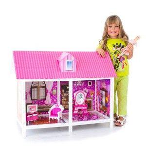 Bettina Дом для Барби с 2 комнатами и мебелью