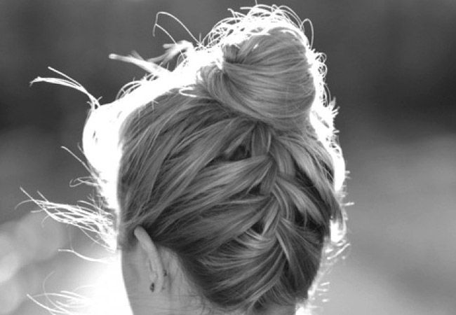 10 Beautiful Updos with Braids - for Dana's wedding!