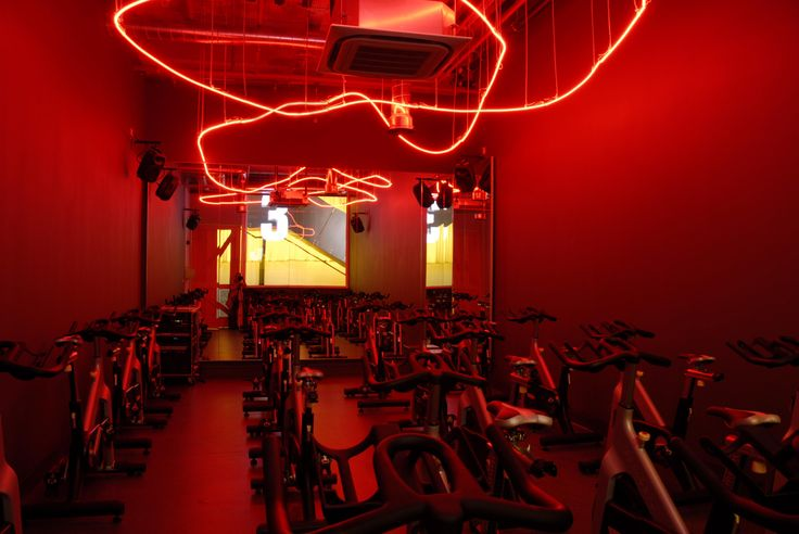 Light + Design - Gymbox Westfield. Cold Cathode