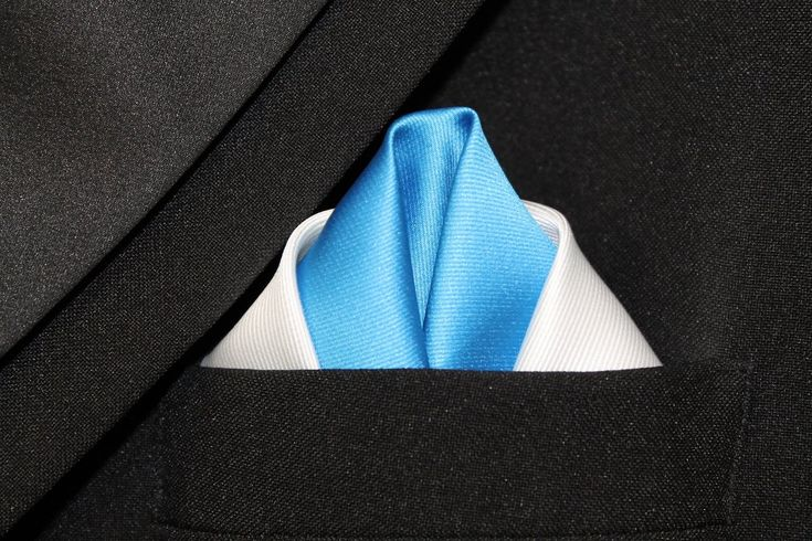 How To Fold A Pocket Square Double Winged Puff