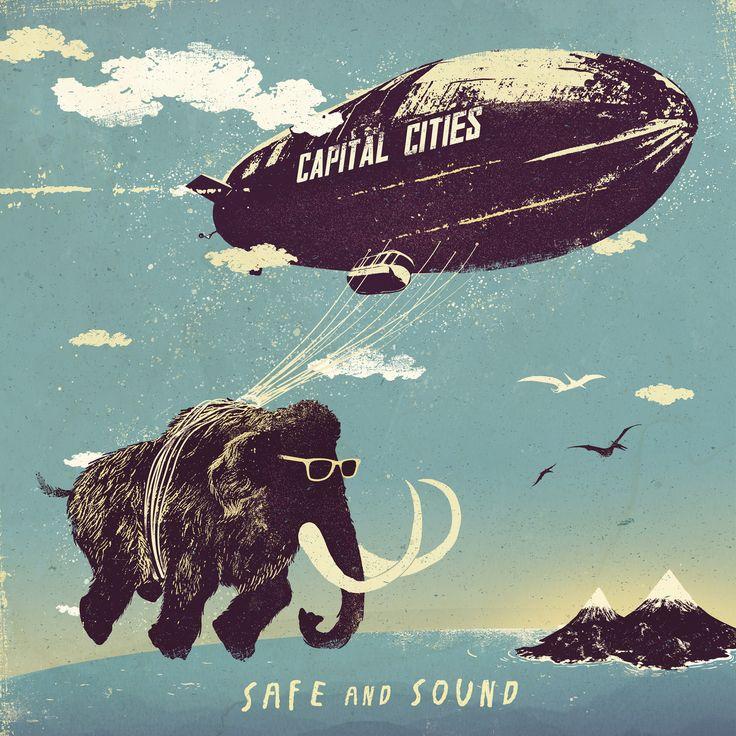 New Track Stream: Capital Cities - Safe & Sound (987FM Penthouse LIVE 1/30/13)