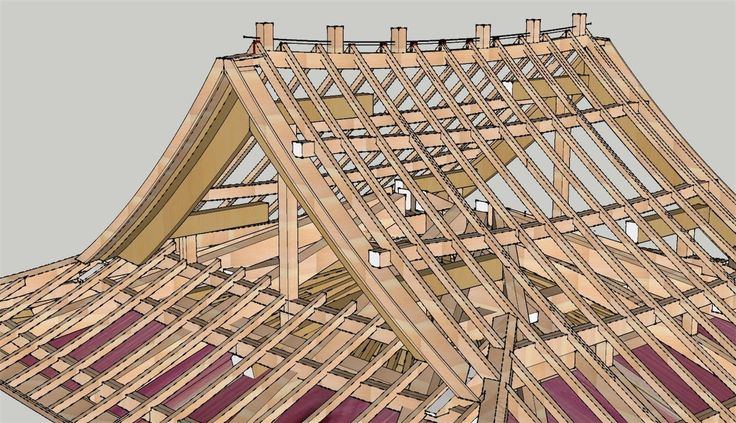 japanese roof style plans - Google Search