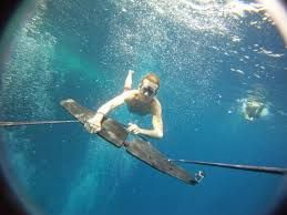 Subwing the best water sport in the world. Better the wakeboarding and stand up paddle SUP and PADI diving This is high speed snorkeling