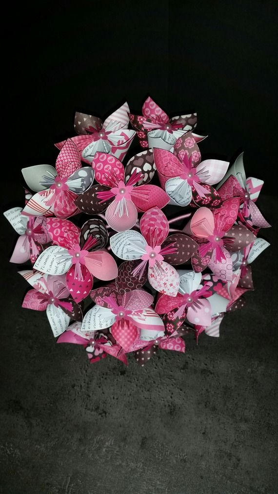 Extrêmement 544 best kusudama images on Pinterest | Paper flowers, Origami  JK52