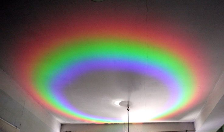 How to make a Indoor Rainbow