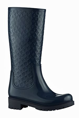 Louis Vuitton Rain Boots omg love these. $450 in the LV store..sold out fast~