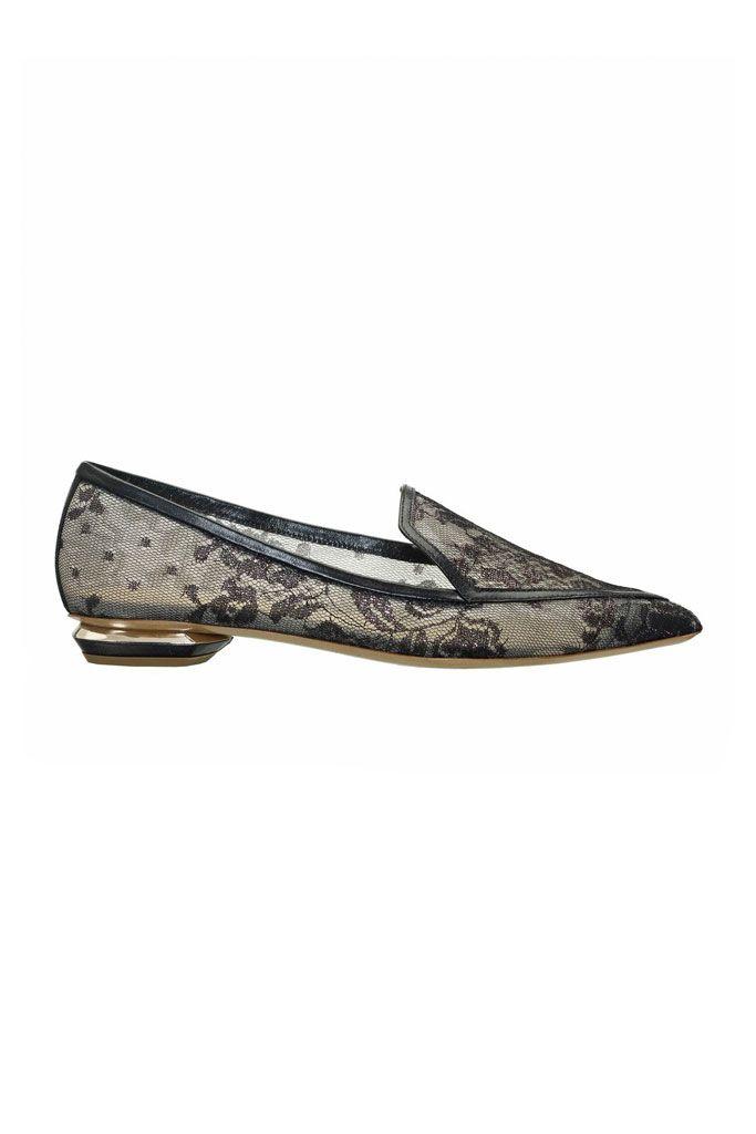Nicholas Kirkwood Woman Metallic Woven Slip-on Sneakers Platinum Size 39 Nicholas Kirkwood 9YT5gGvvj