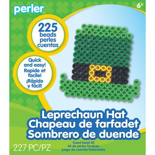 Leprechaun Perler Hat Activity Kit