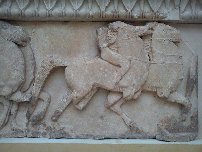 Horse detail - delphi greece
