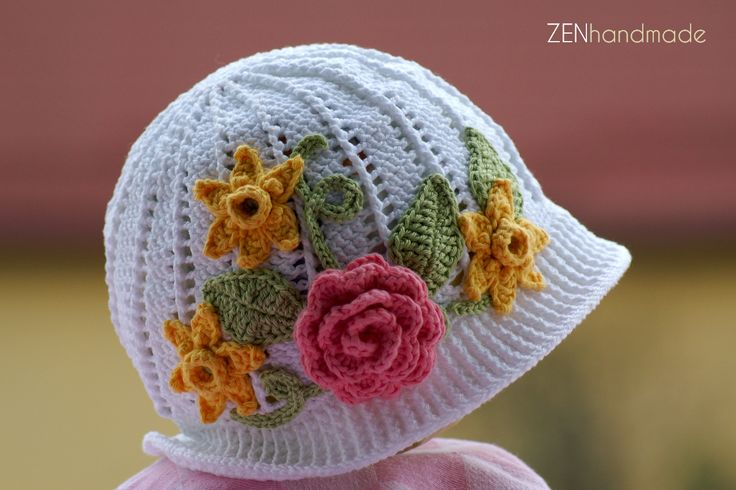 Palarie fantezie (Crocheted hat)  Material: bumbac 100% Pret: 50 lei