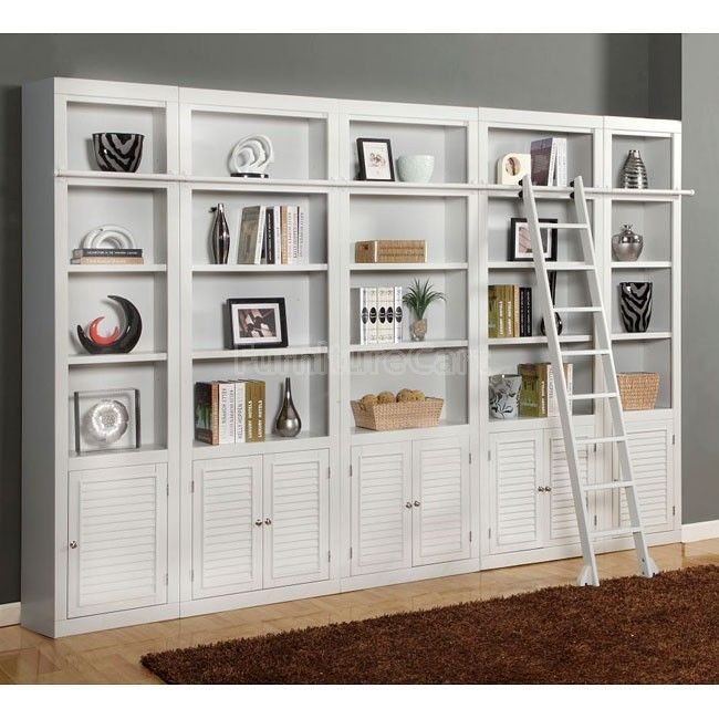 Boca Modular Bookcase Wall Parker House | Furniture Cart... Wish I had bookcases like this!