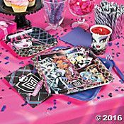Monster High Basic Hoopla Party Supplies
