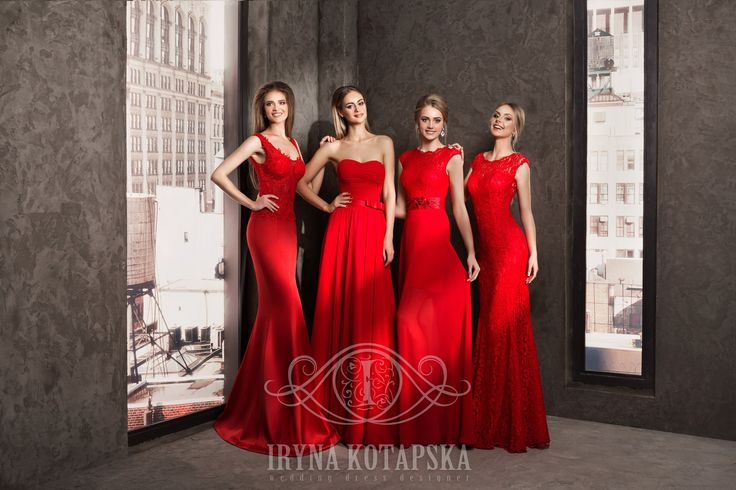 Color has a huge impact on our emotions, our perceptions, and our spiritual and physical well being. Red is the color of fire and is associated with meanings of love, passion and desire. We created these dresses to focus everybody's attention on Your beauty!