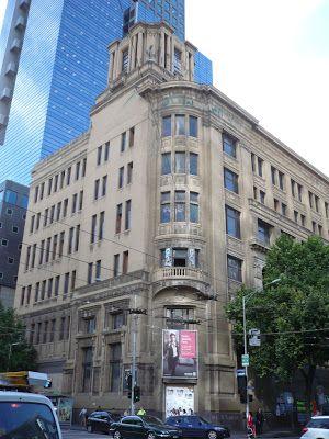'The Argus' newspaper building, Melbourne
