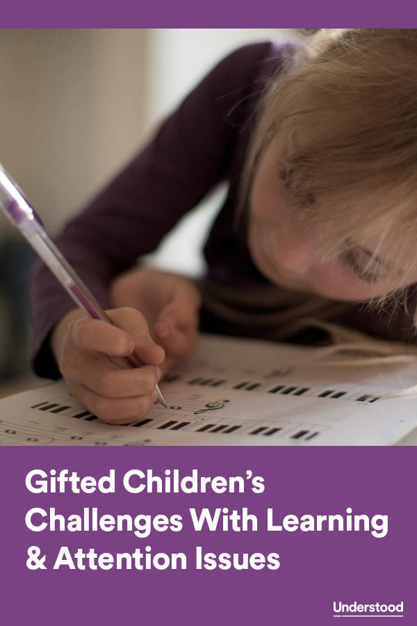 Children can be gifted and also have learning and attention issues. You can help your child get more support.