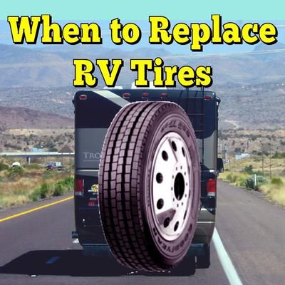 When to Replace RV Tires: How do you know when it's time to change tires with checks starting to show?  ANSWER:  Greetings Dennis thanks for submitting your question on our Ask