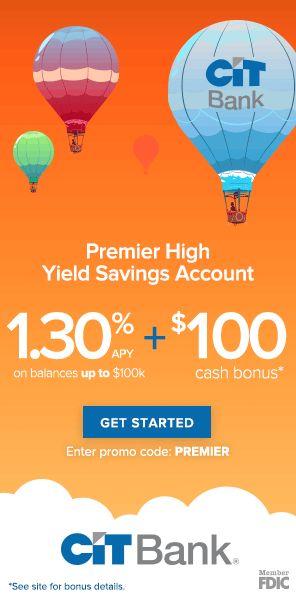 CIT Bank Premier High-Yield Savings Account Review • PT Money