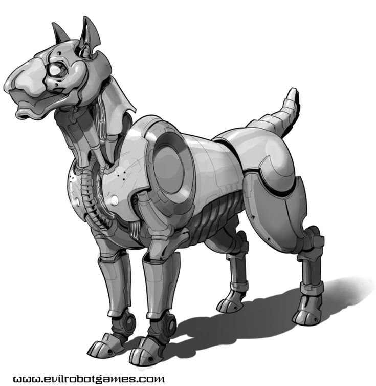 robot dogs fun art - photo #6