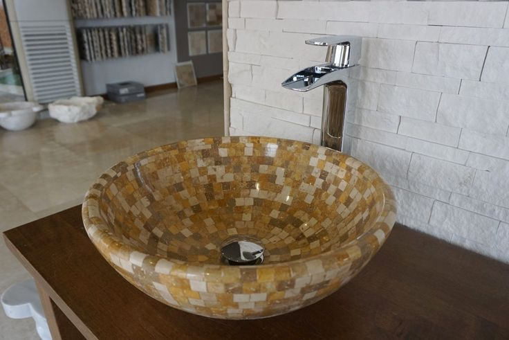 Oslo Mix Sink (DLT631) #sink #bathroomdesign #naturalstone