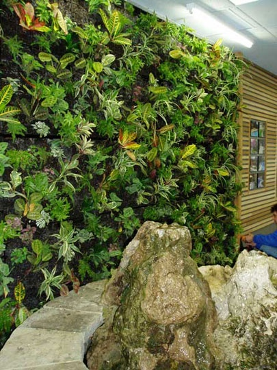 ELT Easy Green Living Wall Systems | Apartment Therapy