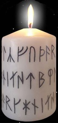 Guide to Magical Paths : Simple Candle Rune Spell
