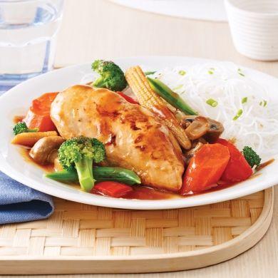 Poulet teriyaki - Recettes - Cuisine et nutrition - Pratico Pratique