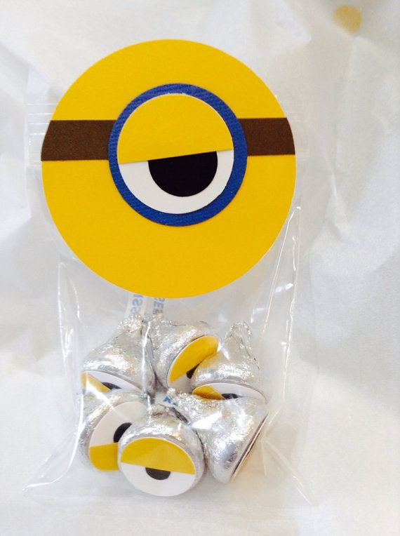 Despicable Me Minion Birthday Party Favors