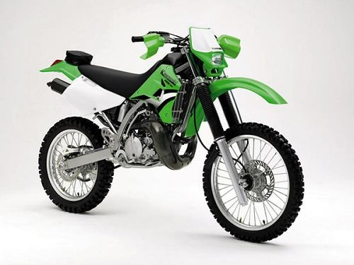 Green Off Road Motorcycles