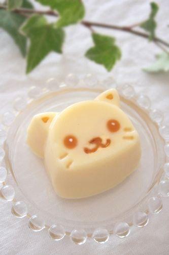 (199) Kawaii Pudding Cat♡ | Cute Food | Pinterest