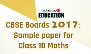 CBSE Board exams 2017: Sample paper for class 10 Maths: http://indiatoday.intoday.in/education/story/cbse-class-10-maths-sample-paper/1/851135.html  #CBSE #Board #Paper #Maths #Class #Education #School #SamplePaper #Students #Exams