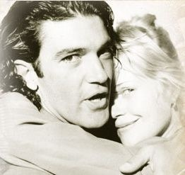 Antonio Banderas and Melanie Griffith Married: 05/14/1996