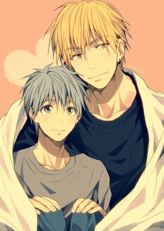Kise and Kuroko <3 They are my favourite otp from the GoM *o* ~Kurokocchi^^ #kurokonobasket #kuroko #kise