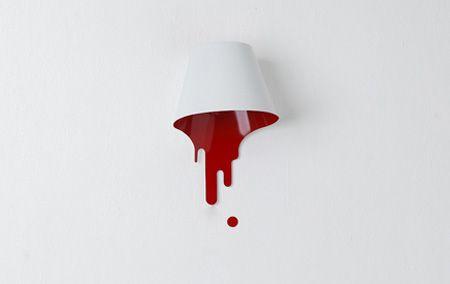 Blood lamp.
