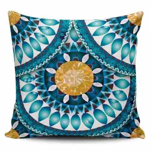 Cojin Decorativo Tayrona Store Mandala 119 - $ 44.900