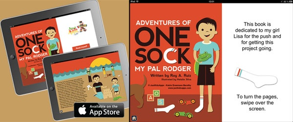 Q Chat with Roy Ruiz of Adventures of One Sock and Katrin from JustKidsApps ‹ AppAbled.com