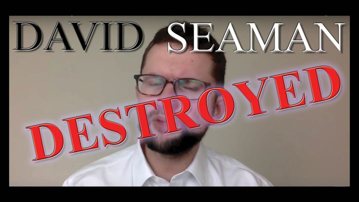 David Seaman DESTROYED ~ Flat Earth