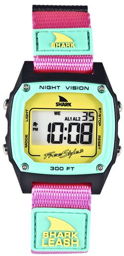 Freestyle Shark 88 Watch - Pink / Teal just REALLY want this...