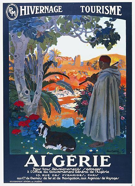 1921 Hivernage & Tourisme PLM. Léon Carré