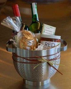 As a hostess gift