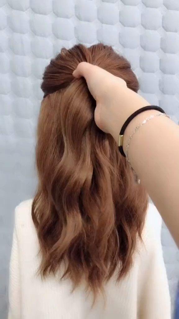Frisuren Für Lange Haare Videos Einfach Einfach